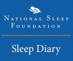 Sleep Diary for Seniors